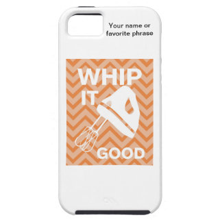 French Country Kitchen - Hand mixer on chevron. iPhone 5 Cover