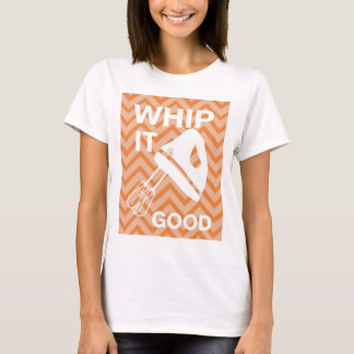 French Country Kitchen - Hand mixer on chevron. T-Shirt