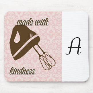 French Country Kitchen - Hand Mixer on Damask Mouse Pad