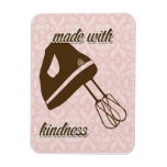 French Country Kitchen - Hand Mixer on Damask Flexible Magnet
