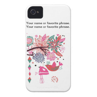 French Country Kitchen - Hand mixer on floral. Case-Mate iPhone 4 Case