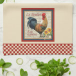 French Country Kitchen-Rooster Kitchen Towels