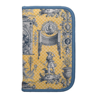 French Country Neoclassical Toile Planner