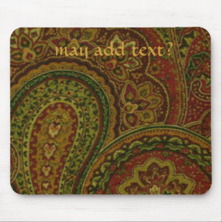 French Country Paisley Design Mousepad