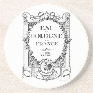 French Country Perfume France Rooster Coaster