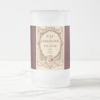 French Country Perfume Label France Fosted Mug