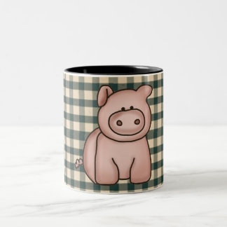 French Country Pig Coffee Cup