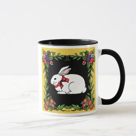 French Country Rabbit Mug
