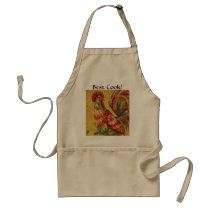 French Country Rooster Best Cook! Apron