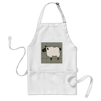 French Country Sheep Apron