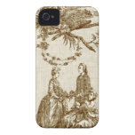 French Country Toile iPhone 4 iPhone 4 Covers