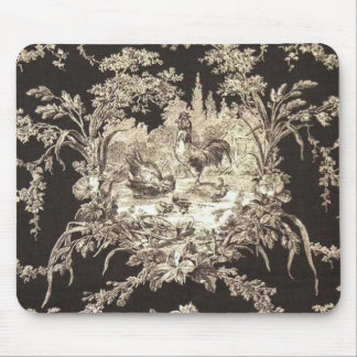 French Country Toile Mouse Pad