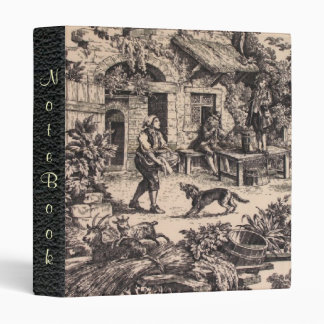 French Country Toile Notebook Avery Binder