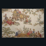 "French Country Toile Placemats<br><div class=""desc"">Vintage French Country Toile Placemats</div>"