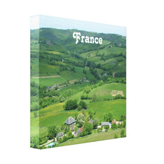 French Countryside Gallery Wrapped Canvas