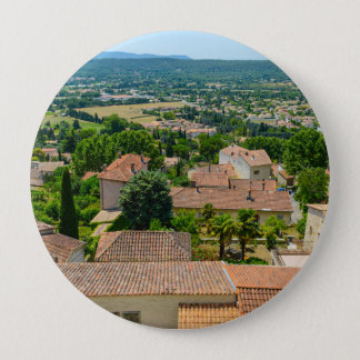 French Countryside in Provence Photograph Button