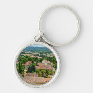 French Countryside in Provence Photograph Keychain