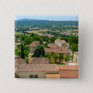 French Countryside in Provence Photograph Pinback Button