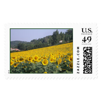 French Countryside Stamp
