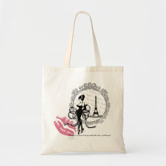 FRENCH COUTURE PARIS T-SHIRT TOTE BAG