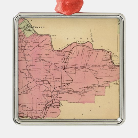 French Creek Township Metal Ornament