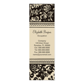 French Creme  ~ Slim Business Card