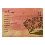 French Crown Parchment Business Cards