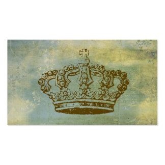 French Crown Vintage Style Business Cards