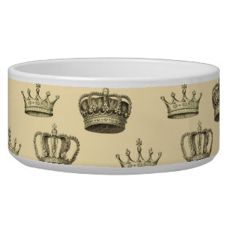 French Crowns on Gold Bowl