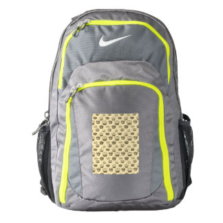French Crowns on Gold Backpack