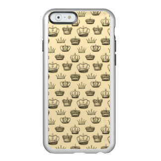 French Crowns on Gold Incipio Feather® Shine iPhone 6 Case