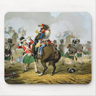 French Cuirassiers at the Battle of Waterloo, Char Mouse Pad