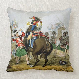 French Cuirassiers at the Battle of Waterloo, Char Pillow