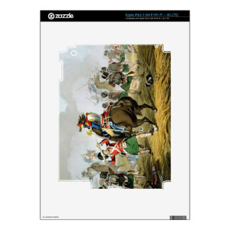 French Cuirassiers at the Battle of Waterloo, Char Decal For iPad 3