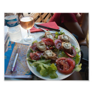 French Cuisine Travel Art Photo Print