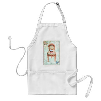 French Cupcake Victorian Style Adult Apron