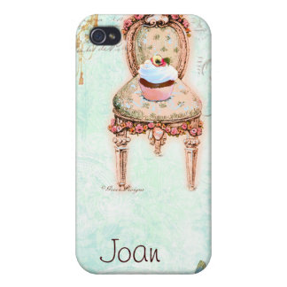 French Cupcake Victorian Style iPhone 4 Cases