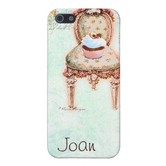 French Cupcake Victorian Style iPhone SE/5/5s Case
