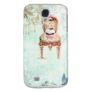 French Cupcake Victorian Style Samsung Galaxy S4 Case
