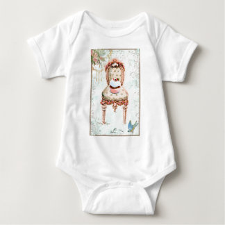 French Cupcake Victorian Style T-shirt
