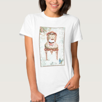French Cupcake Victorian Style Tee Shirt