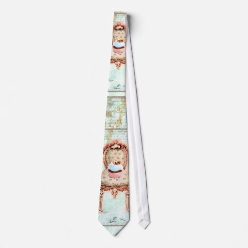 French Cupcake Victorian Style Tie