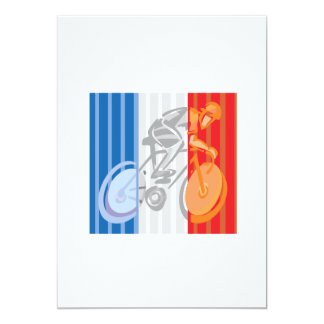 French Cyclist Card