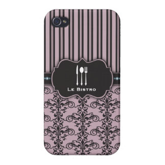 French Damask Restaurant Chef Case