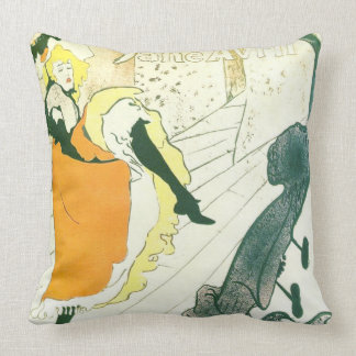 French Dance Poster 1893 Throw Pillow