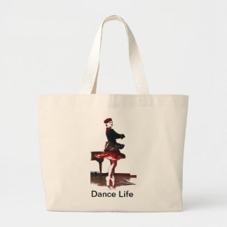 French Dancer Large Tote Bag