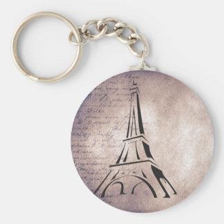 French Decor Paris Keychains