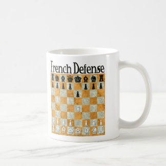 French Defense Coffee Mug