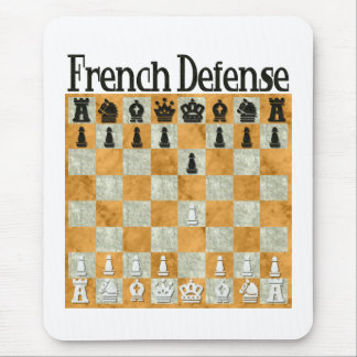 French Defense Mouse Pad