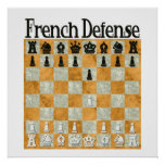 French Defense Print